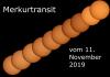 Fotoalbum Merkurtransit am 11. November 2019