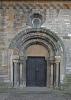 Eingang Nordportal Basilika St. Georg & St. Pancratius zu Hecklingen
