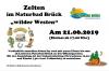 """Vorschaubild der Meldung: Zelten im Naturbad Brück """"wilder Westen"""" am 21.06.2019"""