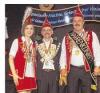 Der neue Narrenkönig in Groß Laasch heißt Maik (rechts).