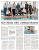 Vorschaubild der Meldung: Kieler Kinder sollen schwimmen können