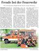 Vorschaubild der Meldung: Freude bei der Feuerwehr   Neues TSF-W für Dolgenbrodt