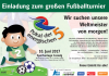 Vorschaubild der Meldung: Einladung zum großen Fußballturnier