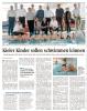 Vorschaubild der Meldung: 50.000,00 € für Schwimmkurse