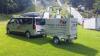 Vorschaubild der Meldung: Sponsor übergibt neuen Transport-Anhänger
