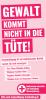 """Vorschaubild der Meldung: Start der Brottütenaktion """"Gewalt kommt nicht in die Tüte"""" am 20.11.2017"""