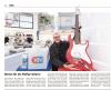 Vorschaubild der Meldung: Versteigerung einer Gitarre mit Signatur von Peter Maffay