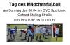 Vorschaubild der Meldung: Tag des Mädchenfußballs im GVO Sportpark