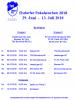Vorschaubild der Meldung: Spielplan der Elsdorfer Pokalwochen 2018