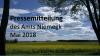 Vorschaubild der Meldung: Pressemitteilung des Amtes Niemegk - Mai 2018