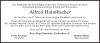 Vorschaubild der Meldung: Trauer um Alfred Haimbacher