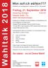 Vorschaubild der Meldung: Wahltalk zur Landtagswahl in Hessen