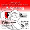 Vorschaubild der Meldung: 2. Spieltag für Volleyballerinnen in Wismar