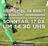 Vorschaubild der Meldung: Heimspiel gegen in Breit gg. FC Peterswald-Löffelscheid