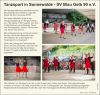 Vorschaubild der Meldung: Tanzen: Unsere Tanzsportabteilung aktiv beim Pfingstfest