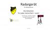 Vorschaubild der Meldung: Radargerät für Ballsportarten