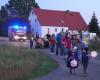 Vorschaubild der Meldung: Weit über 100 Gäste zum Ehrenberger Lampionumzug am 26.10.2019