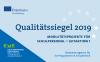 """Vorschaubild der Meldung: Auszeichnung mit dem """"Erasmus+-Qualitätssiegel im Schulbereich"""""""