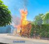 Vorschaubild der Meldung: Einsatz Nr. 26 - Brennt Hecke in Stellau