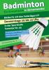 Vorschaubild der Meldung: Badminton-Gruppe sucht Federjäger