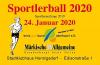 Vorschaubild der Meldung: Sportlerball 2020