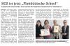 """Vorschaubild der Meldung: KGS ist jetzt """"Plattdüütsche School"""""""