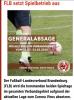 Vorschaubild der Meldung: +++Generalabsage Spielbetrieb Fußball in Brandenburg+++