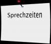 Vorschaubild der Meldung: Sprechzeiten