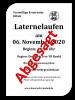 Vorschaubild der Meldung: Laterne laufen Jübek 06.11.2020 - Abgesagt