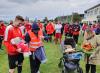 Fussball - Nachwuchswerbung der besonderen Art - Taufgeschenk für den kleinen Theo