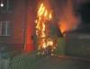 Vorschaubild der Meldung: Einsatz Nr. 28 - Brennt Müll an Gebäude in Barsbüttel