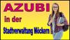 Vorschaubild der Meldung: AZUBI in der Stadtverwaltung gesucht