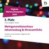 """3. Platz des MGH beim Wettbewerb """"Digitale Weihnachtshelden 2020"""""""