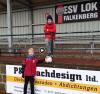 Sieger Max Sonntag und Niklas Wolf aus Falkenberg