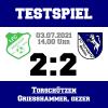 FC Schlicht - FC Vorwärts 2:2