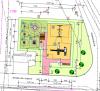 Planzeichnung Spielplatz