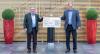 Prof. Klaus Fischer (li) und 1. Vorstand Holger Kreidler (re)