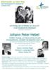 J.P Hebel 200 Jahre Badische Union