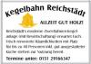 Vorschau:Kegelbahn Reichstädt
