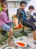 Vorschaubild der Meldung: Klasse 2a: Zeigt her, eure Füße ...