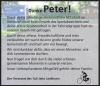 Vorschaubild der Meldung: Peter Klimke verstorben