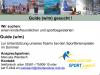 Vorschaubild der Meldung: Guide (w/m) für die Betreuung der Sportferienspiele gesucht!