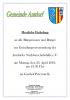Vorschaubild der Meldung: Gründungsversammlung der   Antdorfer Nachbarschaftshilfe e.V.