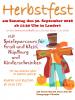 Vorschaubild der Meldung: Herbstfest der Piccolos am Sonntag, 30.09.