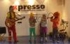 Vorschaubild der Meldung: Clownin Augustine begeisterte ihr Publikum im Kinder- und Jugendkulturbahnhof X-Presso