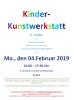 Vorschaubild der Meldung: 04.02.19   16-17.30 Uhr: Kinder-Kunstwerkstatt  (8 – 12 Jahre) im Familienzentrum Nahe