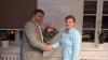 Vorschaubild der Meldung: Bürgermeister Karsten Ilm verabschiedet Mitarbeiterin in den Ruhestand