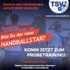 Vorschaubild der Meldung: Handballstar gesucht!