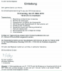 Vorschaubild der Meldung: Einladung zur Jahreshauptversammlung
