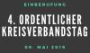 Vorschaubild der Meldung: 4. ordentlicher Kreisverbandstag (mit Wahlen) am 09.05.2019